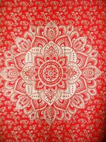 Hippie Floral Trippy Mandala Psychedelic Boho Wall Hanging Dorm Posters/Tapestry