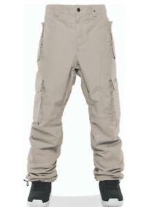 ThirtyTwo BLAHZAY CARGO 10K Mens Snowboard Ski Pants Medium Khaki NEW