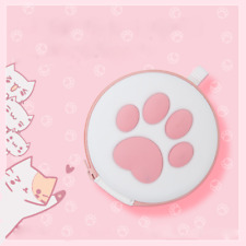Kawaii Cat Paw Storage Bag Case Card Box for Switch Game Console Protective