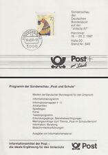 Scheda Mary Wigman, ballerina-Didacta 87 (MiNr. 1301)