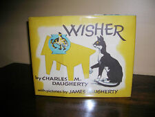 Wisher by Charles M Daugerty Illus By James Daugherty 1960 1st Edition DJ CATS!