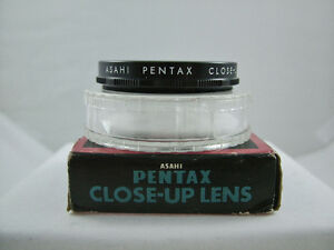 GENUINE ASAHI PENTAX 49MM NO.1 CLOSE-UP CAMERA LENS (MINT)