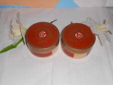 The Body Shop Warm Amber Bath Crystals 7.0 Oz. X 2 NEW DISCONTINUED