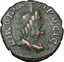 SEPTIMIUS SEVERUS 193AD Ancient  Rare Roman Coin SERAPIS Antiquity God  i19868