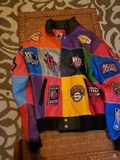 Jeff Hamilton leather Nba Jacket