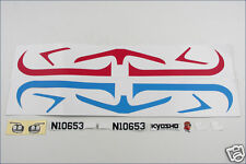 A0653-03 Kyosho Decal (Red / Blue) - Flybaby