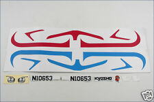 A0653-03 Kyosho Sticker (Rouge / Bleu) - Flybaby
