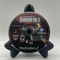 Tom Clancy's Rainbow Six 3 PS2 Disc Only Tested Sony PlayStation 2 Ps2 Game 2004