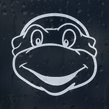 Michelangelo Ninja Turtle Car Or Laptop Decal Vinyl Sticker For Window Bumper
