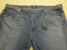 NWT $99 Lucky Brand 181 Relaxed Straight 100% Cotton Jeans Sz 54x32