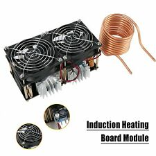 Newest 1800W ZVS Induction Heating Board Module Driver Heater with coil  US Ship