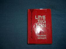 LITTLE BIG MAN by Thomas Berger/1st Ed/HCDJ/Literature/Historical