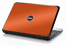 ORANGE Vinyl Lid Skin Cover Decal fits Dell Inspiron Mini 10 Netbook