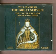 The Tallis Scholars: William Bryd - The Great Service (1987). Phillips, Gimell.