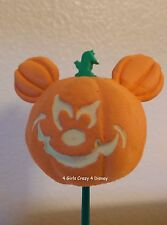 Disney Mickey Mouse SCARY  PUMPKIN Antenna Topper NEW  HALLOWEEN
