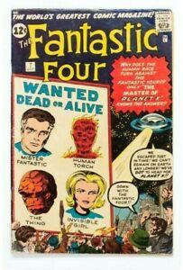 1962 * FANTASTIC FOUR #7 * Marvel Comics est 5.0 VG/FN * RARE Off WHITE Pages !!