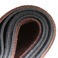 1* Car Thin Truck Leather Steering Wheel Cover With Needles and Black Thread DIY