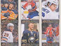 🔥 2020-21 TIM HORTONS CANVAS UD UPPER DECK NHL FINISH YOUR SET you PICK one  🔥
