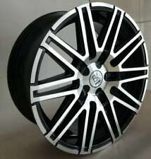 "BK693 Black 18"" Alloy Wheels Tyres 5x112 8x18 255 45 18 Vito Vanio Vaneo"