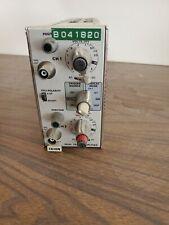 Tektronix 7a18n Dual Trace Amplifier Plug In Tp576