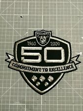 "OAKLAND RAIDERS JERSEY PATCH 1960- 2009 AFL 50th ANNIVERSARY BIG 5X4-1/4'"" NEW🔥"