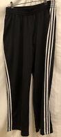 Women's Adidas Soccer Track Wind Pants Vintage 3 Stripes Sz L