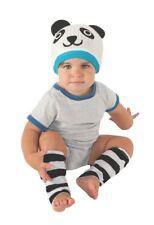 Lil' Hat Cutie Pies Panda Bear Set Leg Warmers & Crochet Hat Baby Kit 6-12 Month