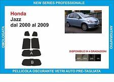 pellicole oscuranti vetri honda jazz dal 2000-2009 kit posteriore