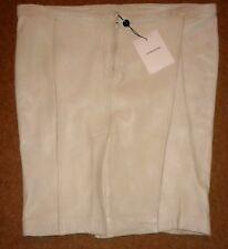 Costume National Leather Tube Mini Skirt-UK 16/EU 44
