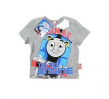 Camicia casual grigi per bambini dai 2 ai 16 anni 100% Cotone