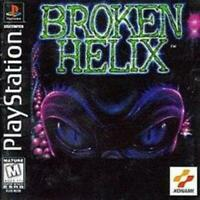 Broken Helix Playstation Game PS1 Used Complete