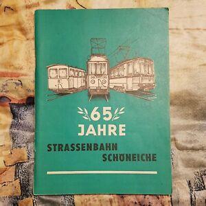 65 Jahre Straßenbahn Schöneiche | 1910 - 1975