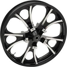 """COASTAL MOTO 21"""" BLACK FRONT WHEEL 14-17 HARLEY STREET GLIDE FLHX CVO FLHXS"""