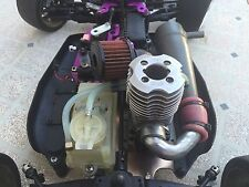 Mugen Seiki Super Athlete 4x4 Nitro Buggy 1:8 Scale - RC Car Truggy + Extras
