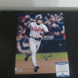Ryan Klesko Autograph 11x14 Color Photo Atlanta Braves Beckett COA #2