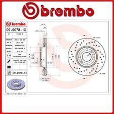 09.9078.1X#32 DISCO FRENO ANTERIORE SPORTIVO BREMBO XTRA NISSAN MICRA III (K12)