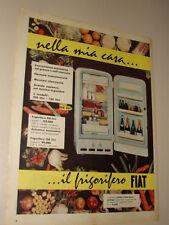 FIAT FRIGORIFERO ELETTRODOMESTICI=ANNI '50=PUBBLICITA=ADVERTISING=WERBUNG=572