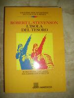 STEVENSON - L'ISOLA DEL TESORO.SCUOLA MEDIA ED:GIUNTI MARZOCCO - ANNO:1990  (SR)