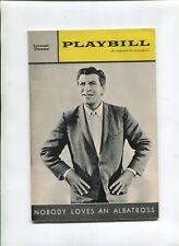 Vintage Broadway PLAYBILL 1964 NOBODY LOVES AN ALBATROSS Robert Preston
