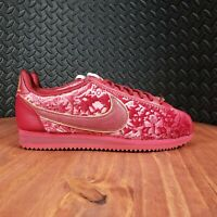Nike Classic Cortez SE Velvet Crush Causal Sneakers Womens 8 Red :2116