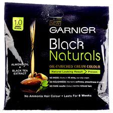 buy 10 get 2 free Garnier 1.0 Black Naturals Oil Enriched Cream Color No Ammonia