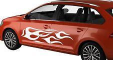 STRIPES GRAPHICS CAR VAN RACE FLAME SIDES CUSTOM VINYL DECAL STICKERS