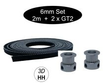 GT2 Set: 2 x GT2 Pulley + 2M GT2 6mm  Band je nach Wah. Versand gleicher Tag