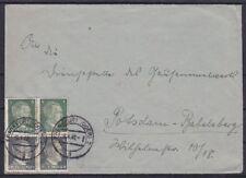 Dr S 270 Auchinleck lettre, Francfort-Potsdam 08.04.1942, ensemble Pression