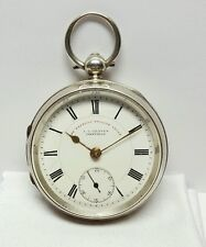 "1899 Sterling J.G. GRAVES SHEFFIELD ""EXPRESS ""   Open Face Pocket Watch #652169"