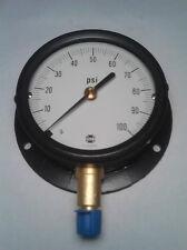 """Ametek 5801 0-100 PSI Pressure Gauge 3-1/2"""" Dry 1/4"""" NPT Lower (NEW)"""