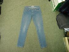 "Forever 21 Denim Skinny Jeans Waist 27"" Leg 29"" Faded Dark Blue Ladies Jeans"