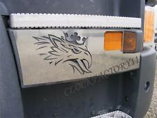 New 2 pcs Step Decoration for SCANIA R Euro6 Made Of Polished Stainless Steel