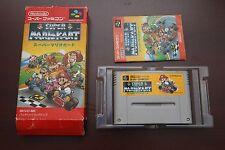 Super Famicom SFC Super Mario Kart boxed Japan SNES game US Seller
