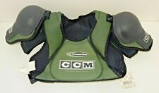 New Nos Ccm Bsp220L Powerline Ice Hockey Shoulder Pads Green ~ Size: Boys Large
